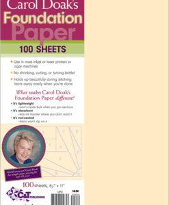 Buy Carol Doak's Foundation Paper at Craft Warehouse