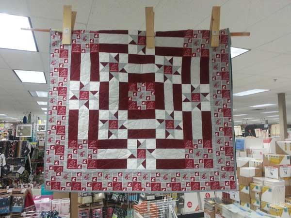 Quilt Patterns For College Students : College Quilt Kits - Craft Warehouse