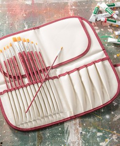 Nylon Brush Set with FREE Brush Case