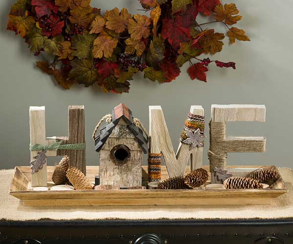 "Fall Reclaimed Wood ""Home"" Decor"