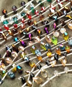 Teardrop Shimmer Crystals