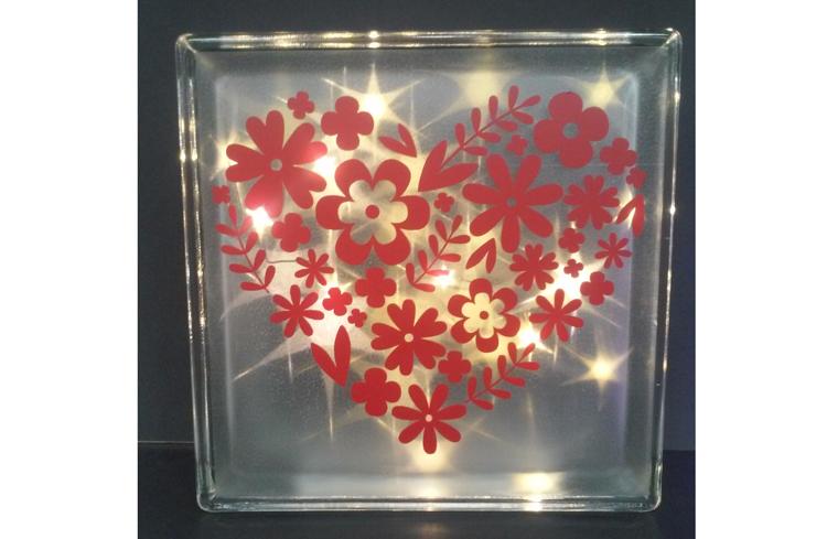 Make & Take - Valentine's Light Up Glass Block @ Beaverton Location   Beaverton   Oregon   United States
