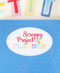 Scrappy Project PLanner by Lori Holt at Craft Warehouse