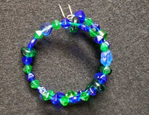 Blue Friday - Wire Coil Bracelet @ Kennewick Location | Kennewick | Washington | United States