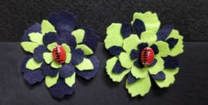 Blue Friday - Felt Flower Hair Clip @ Kennewick Location | Kennewick | Washington | United States