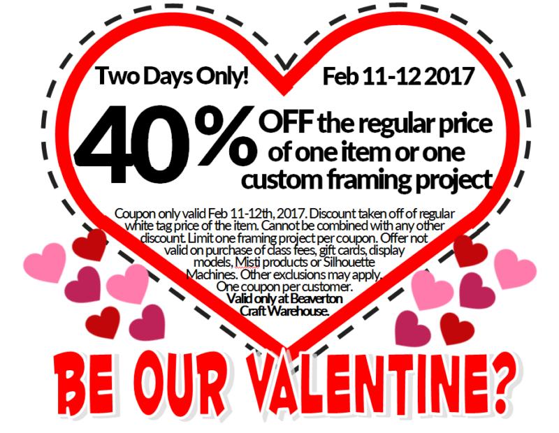 Valentine's Sale @ Beaverton Location   Beaverton   Oregon   United States