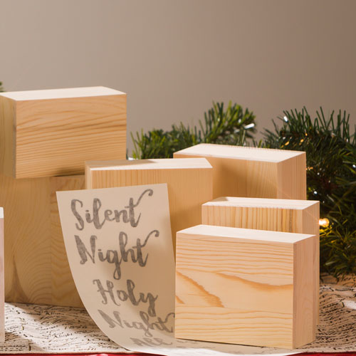 Unfinished wood block set craft warehouse for Where to buy wood blocks for crafts