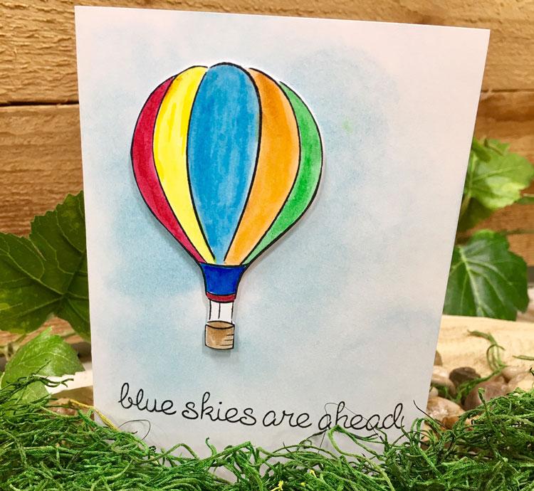 Blue Skies Ahead Card @ Hazel Dell Location | Vancouver | Washington | United States