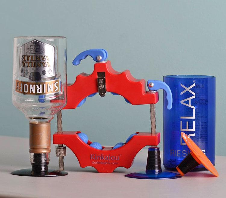 Create Custom Glassware from the Kinkajou Bottle Cutter