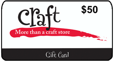 GIFT CARDCraft Warehouse