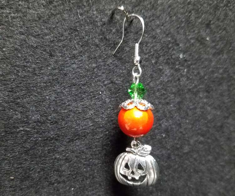 Jack-O-lantern Charm Earrings @ Kennewick Location | Kennewick | Washington | United States