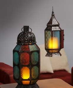 Moroccan Lanterns in two sizes at Craft Warehouse