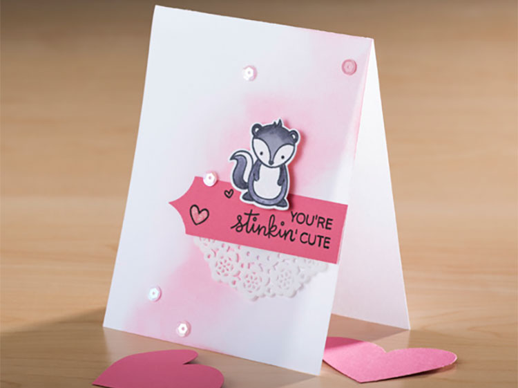 Stinkin' Cute Valentine Card @ All Locations