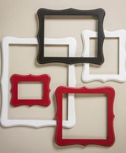 Whimsical Open Back Wall Frames