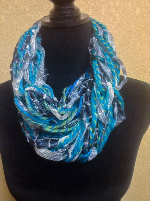 Fall Arm Knitted Scarves