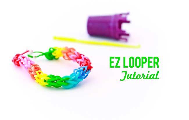 EZ Looper Rubber Band Bracelet Tutorial