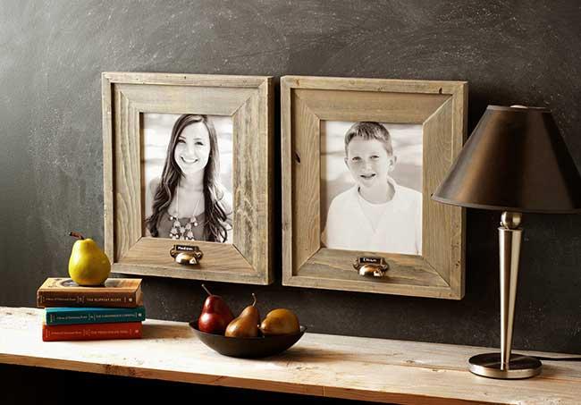 Personalize Rustic Barnwood Frames