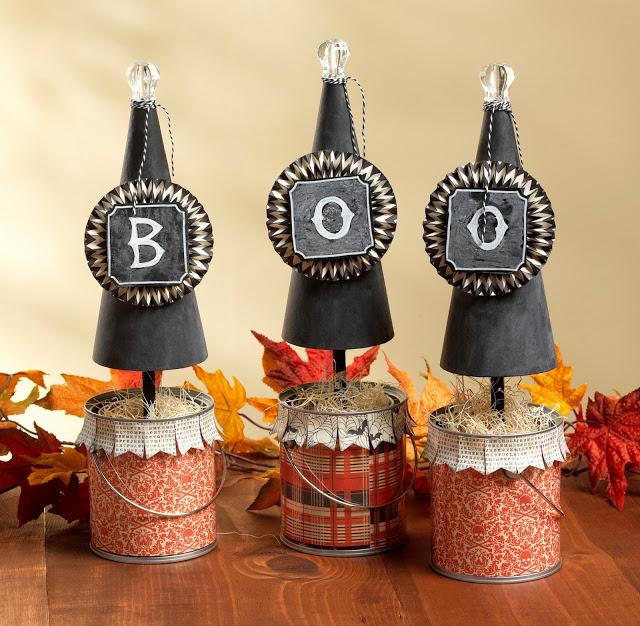 Boo! Cones
