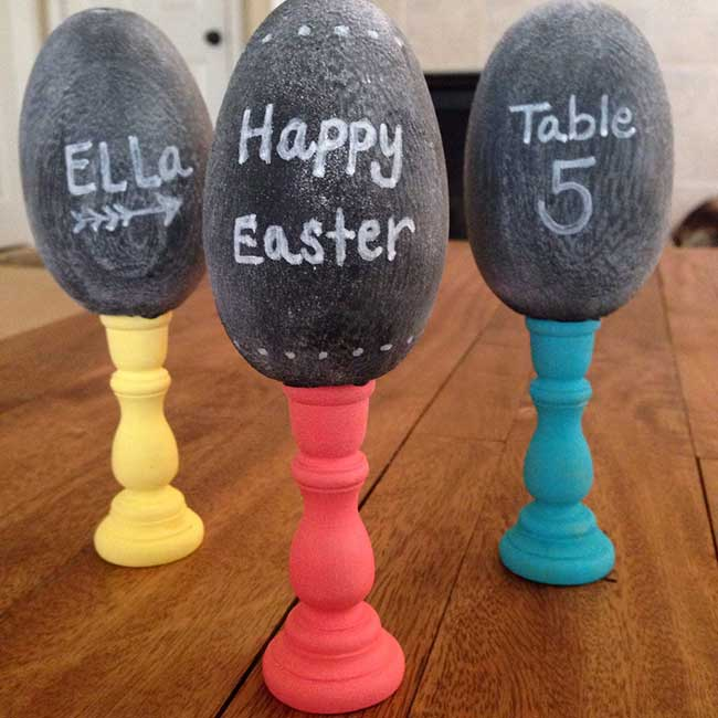 Fun Ways To Decorate Wood Easter Eggs