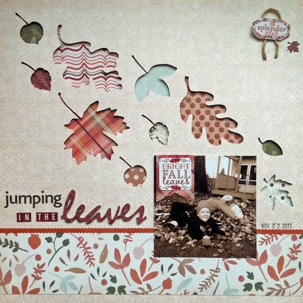 Jumping in the Leaves Layout