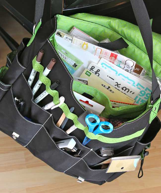Scrapbook Bag