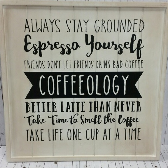 Coffee Rules Sign