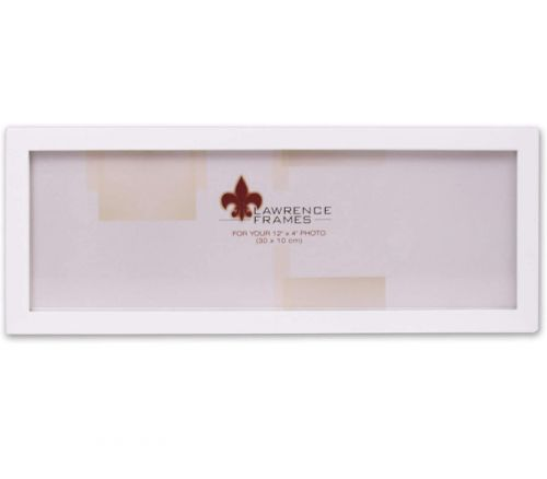 Frame - 4-inch x 12-inch - White