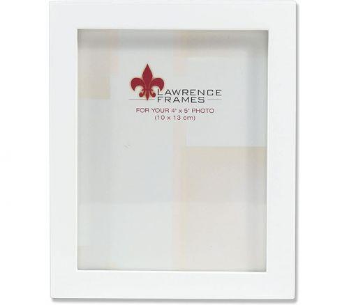 Frame - 4-inch x 5-inch - White