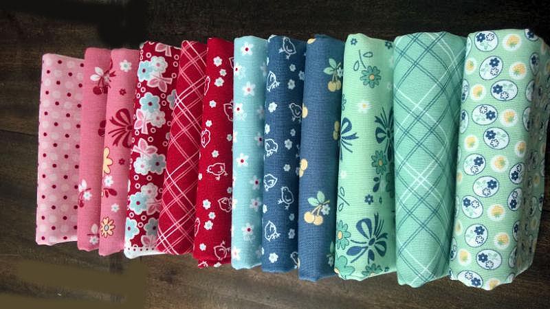 Riley blake calico days fabric