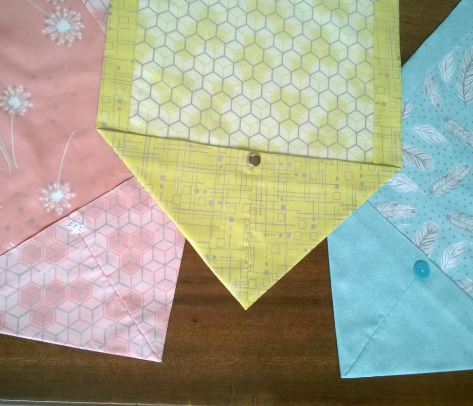 fabric easter everyday table runner