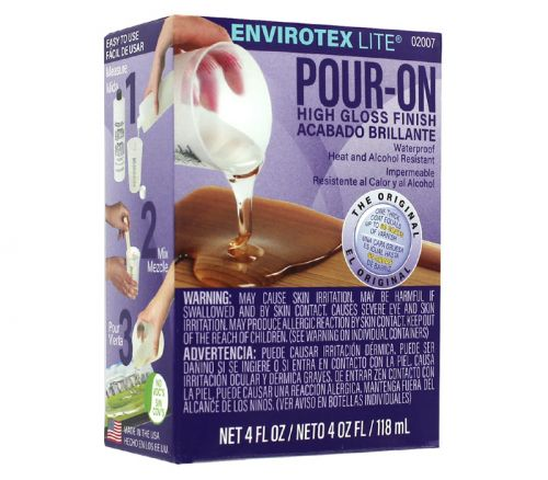 Envelopeirotex Lite - Pour On High Gloss Finish 4-ounce