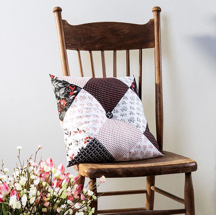 Sew this Three Seam Decorator Pillow