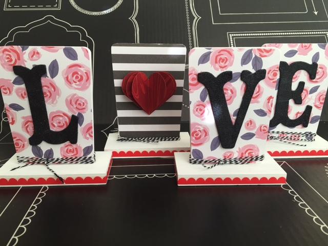 valentines love home decor diy project