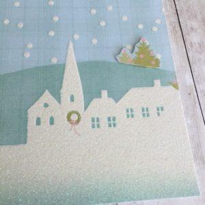 My Minds Eye Scrapbook Christmas Winter Sugar Plum shadow box