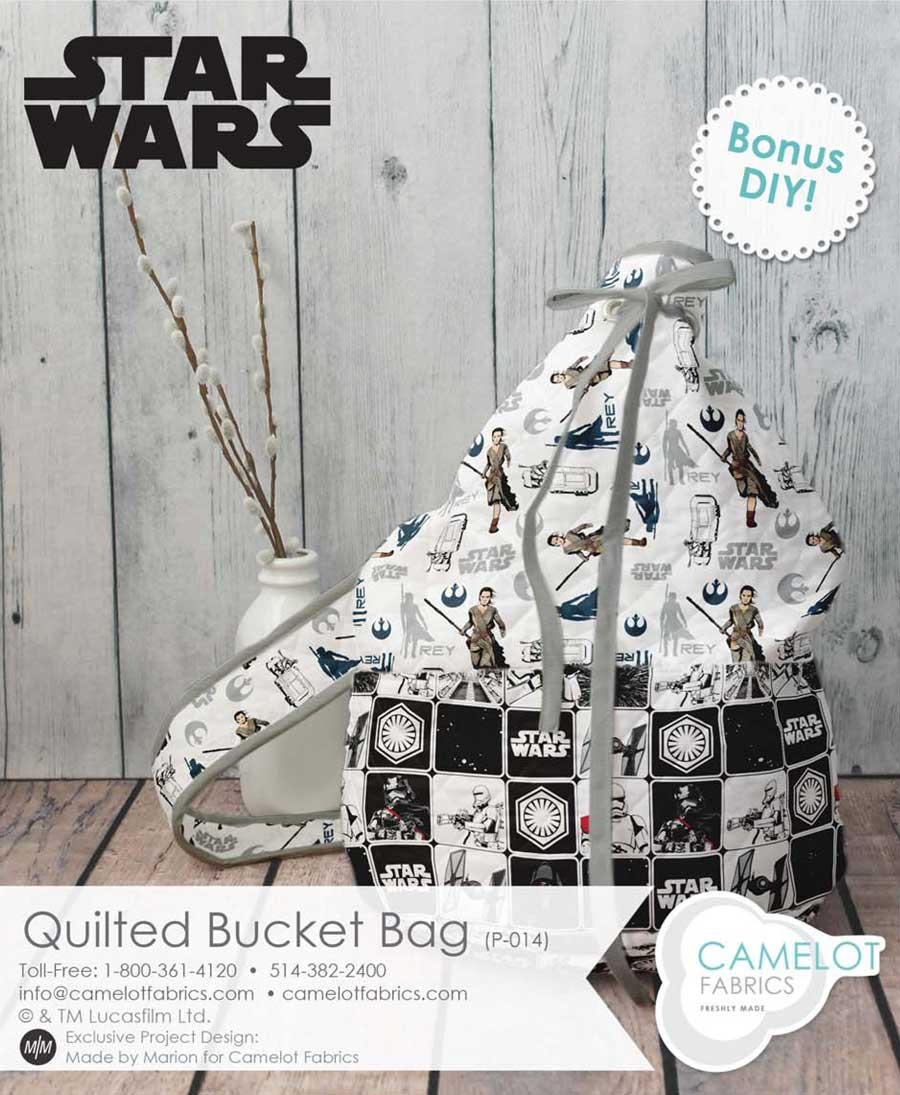 Star Wars Fabric bucket bag by Camelot