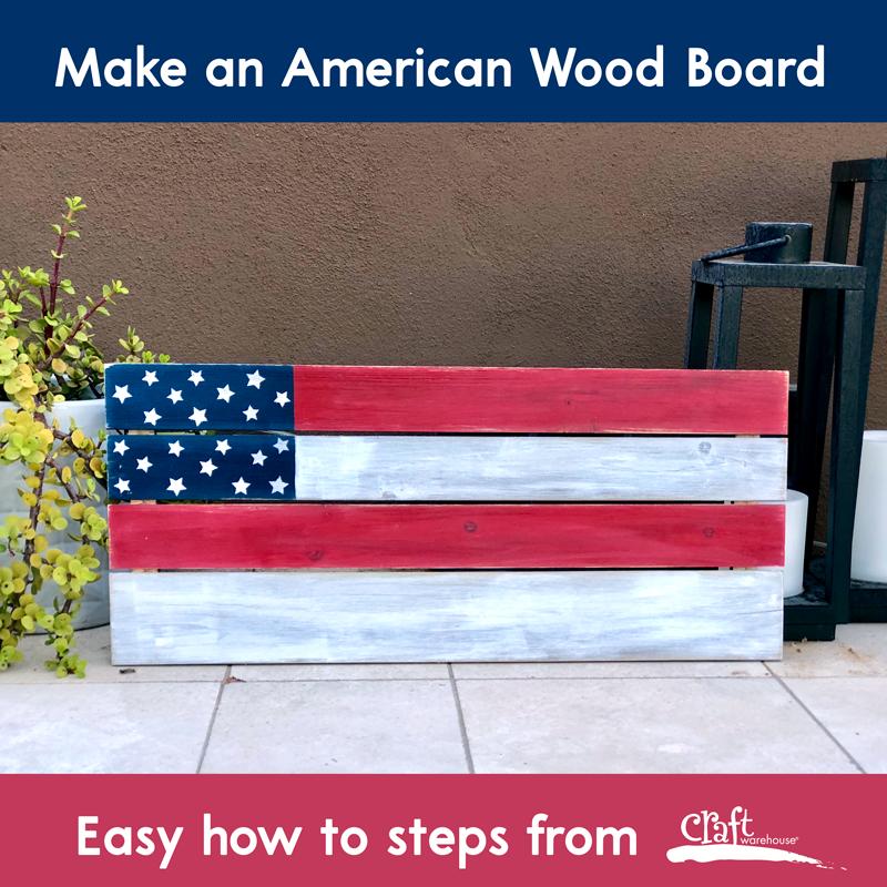 Make this: Americana Flag Board