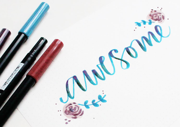 Return of Hand Lettering at Craft Warehouse