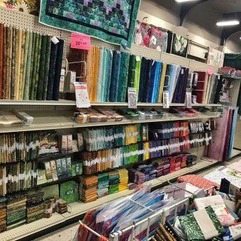 Batiks at Beaverton Quilt Shop