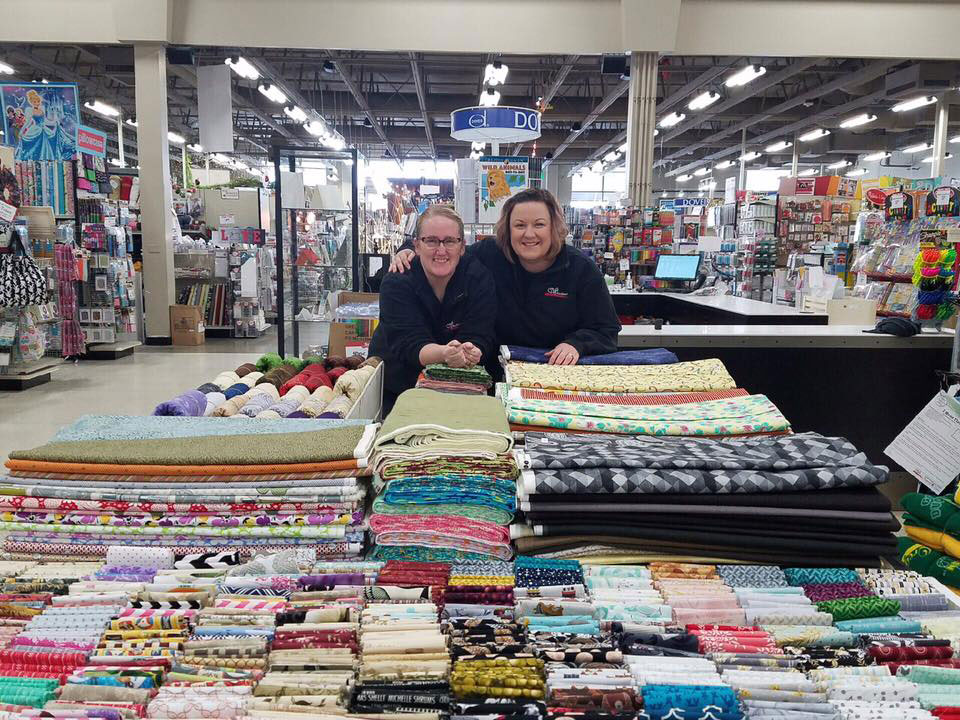 Our 3 times a year Fabric Truckload Sale