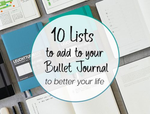 10 Excellent List Ideas for your Bullet Journal