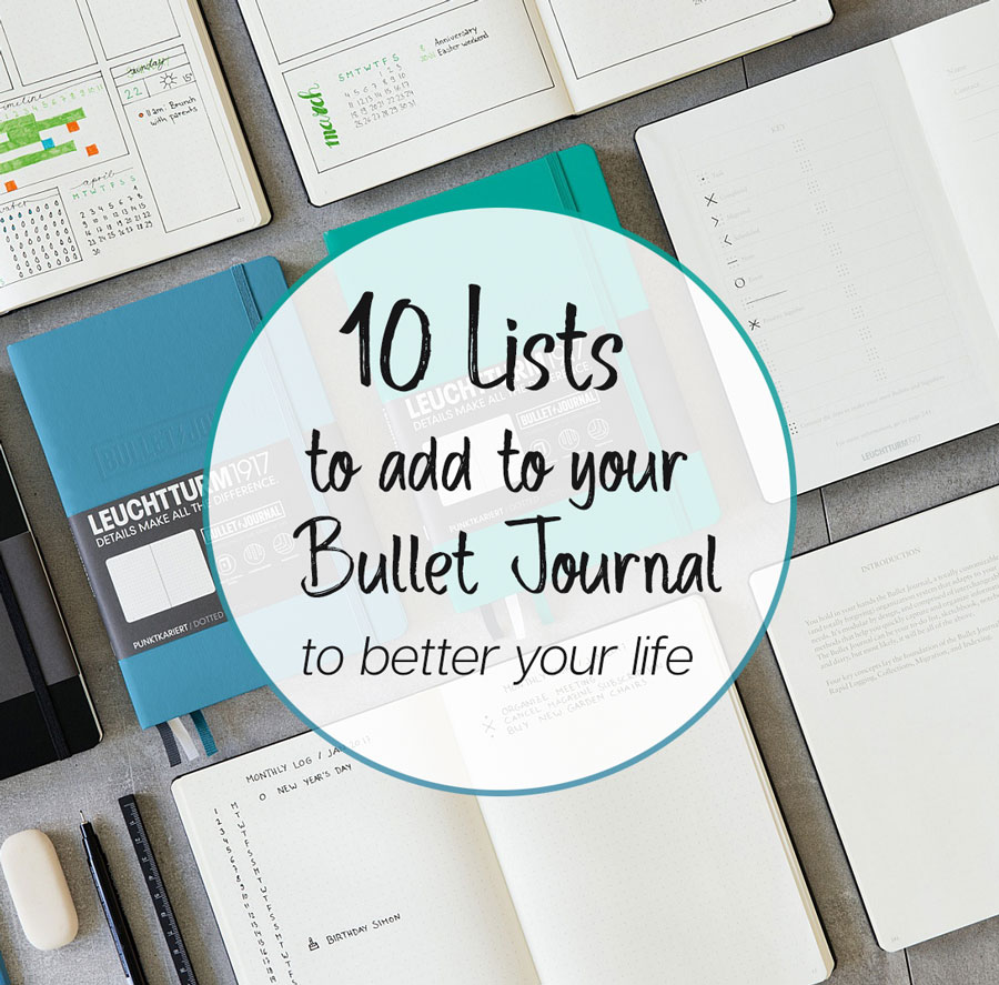10 Things to Track in your Bullet Journal
