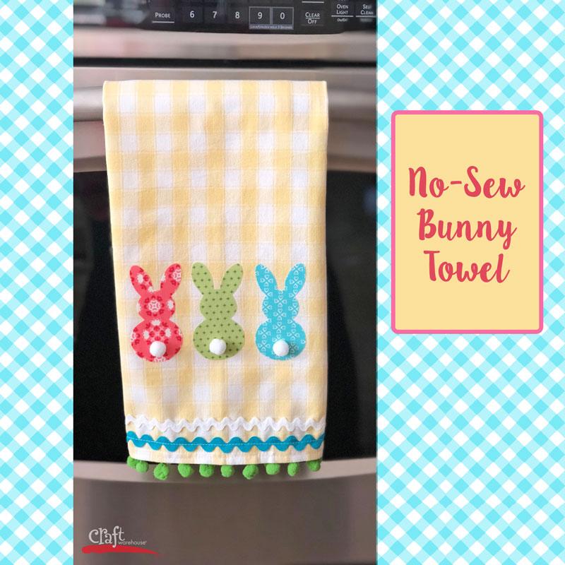 Make this Bunny Towel - printable project sheet