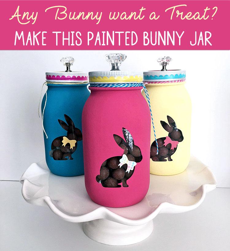 Make this Painted Bunny Jar at Craft Warehouse