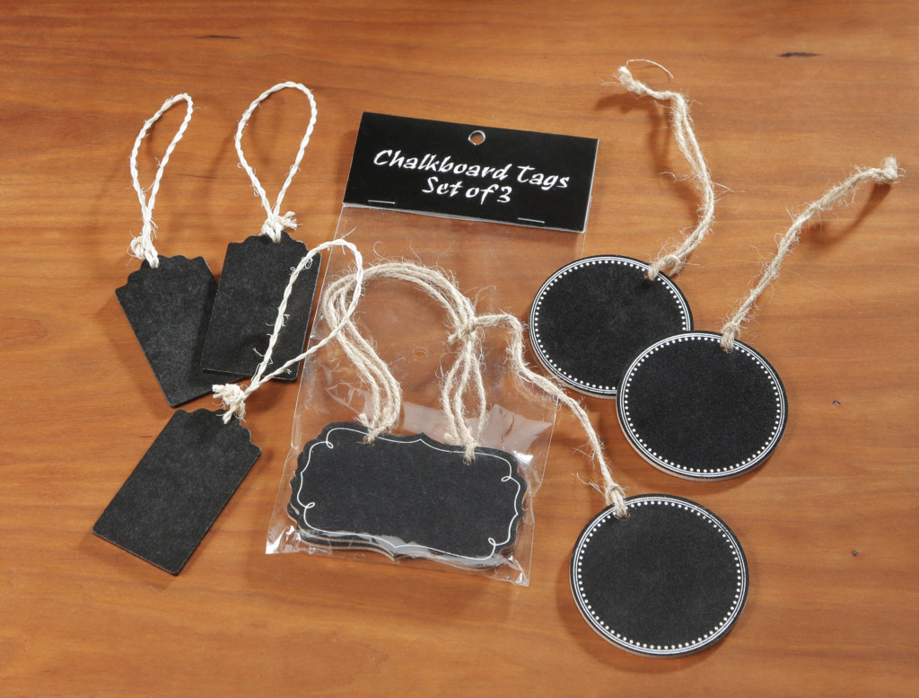 Chalkboard Tags For Gift Giving, lables, organize