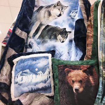 Digital Cuddle Fabrics available at Craft Warehouse