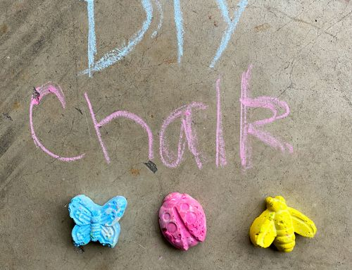 Make this: DIY Sidewalk Chalk