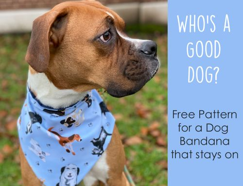 Sew this: Dog Bandana FREE Pattern