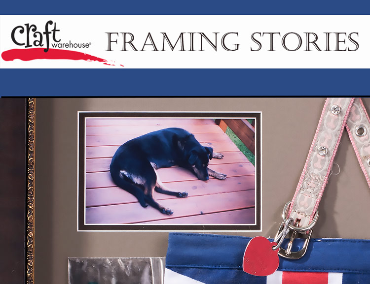 Craft Warehouse Framing Stories - Remembering Sierra