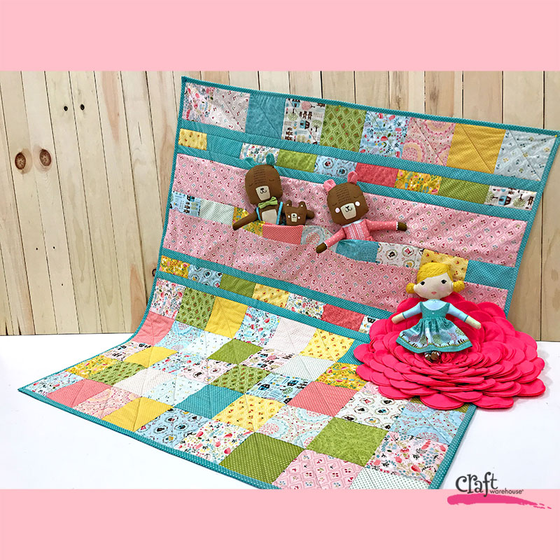 Make this Baby Charm Quilt - Free Pattern
