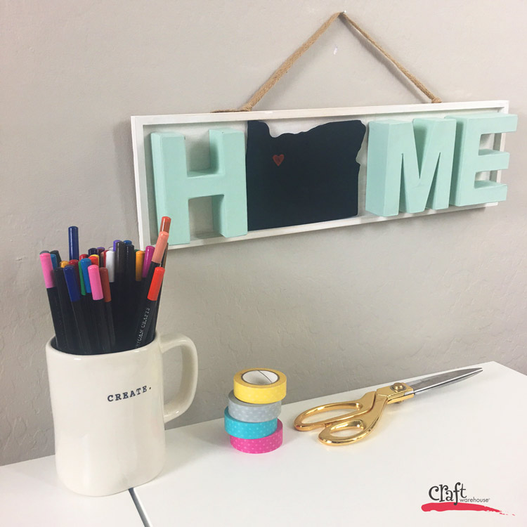 How to make a dimensional home sign